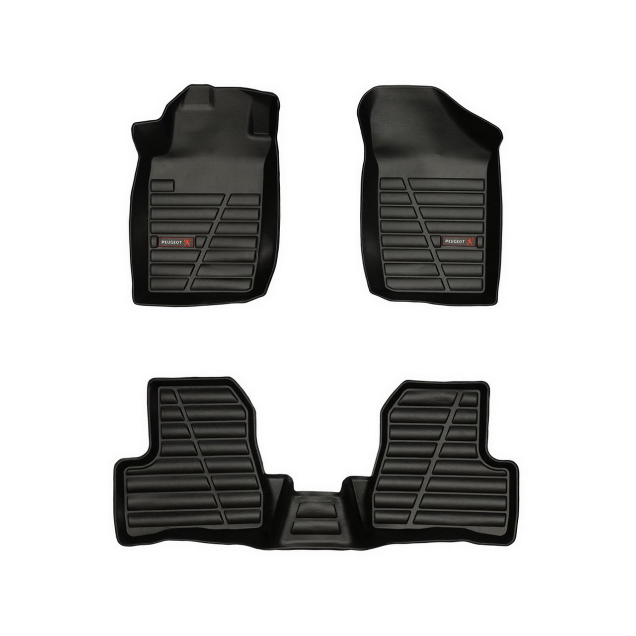 کفپوش سه بعدی خودرو لاستیک گیلان مناسب برای پژو 206