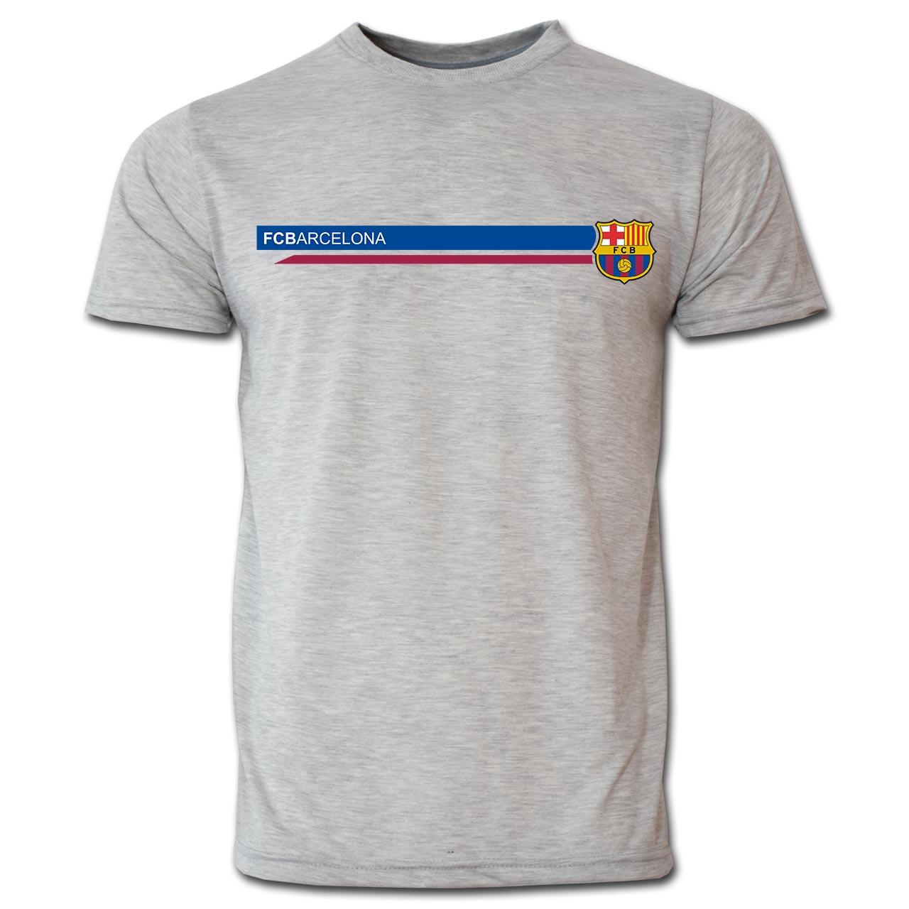 تیشرت مردانه بارسلونا کد B903