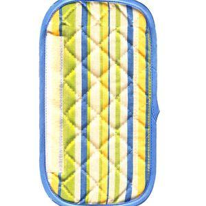 دستگیره یخچال کتان 30 × 15 رزین تاژ طرح اسپرید آبی
