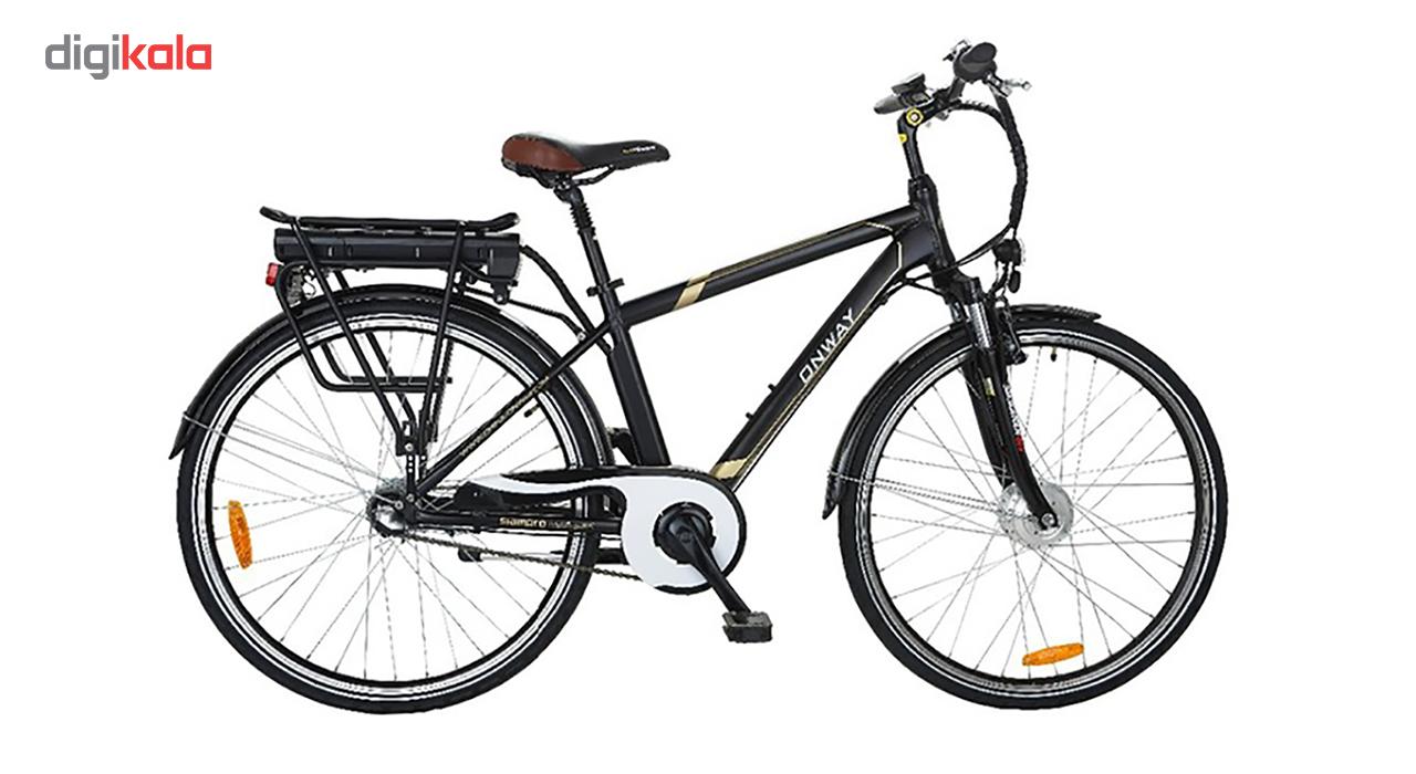 دوچرخه برقی آن وی مدل HF-7001301B سایز 26  -