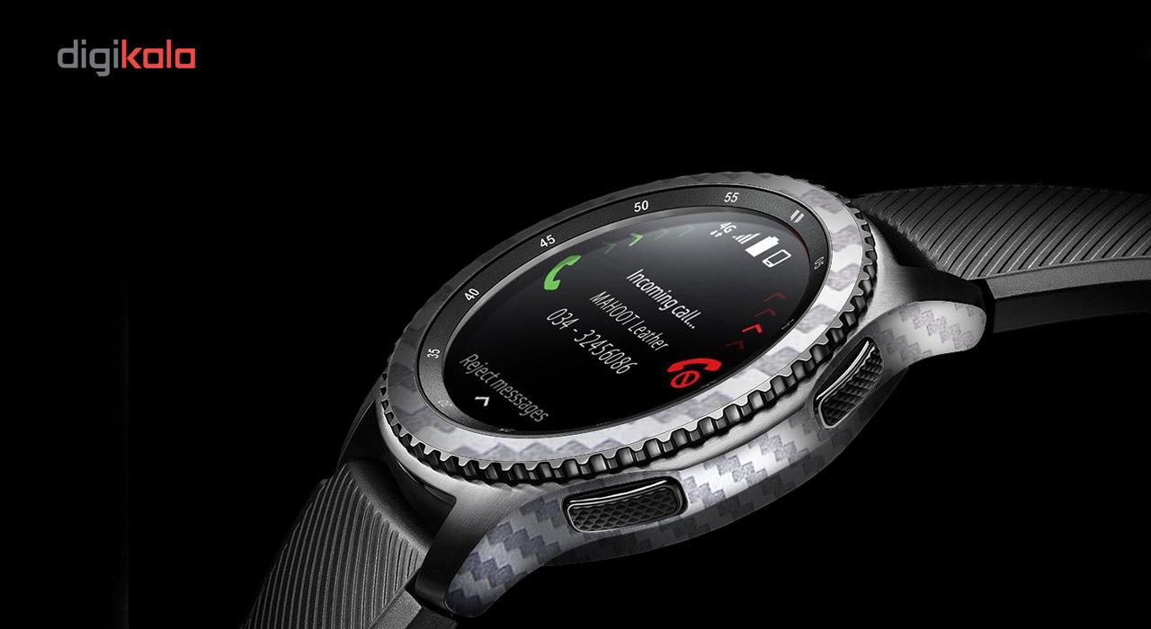 بسته 2 عددی برچسب ماهوت مدل Carbon-fiber مناسب برای ساعت هوشمند Samsung Gear S3 Frontier main 1 7