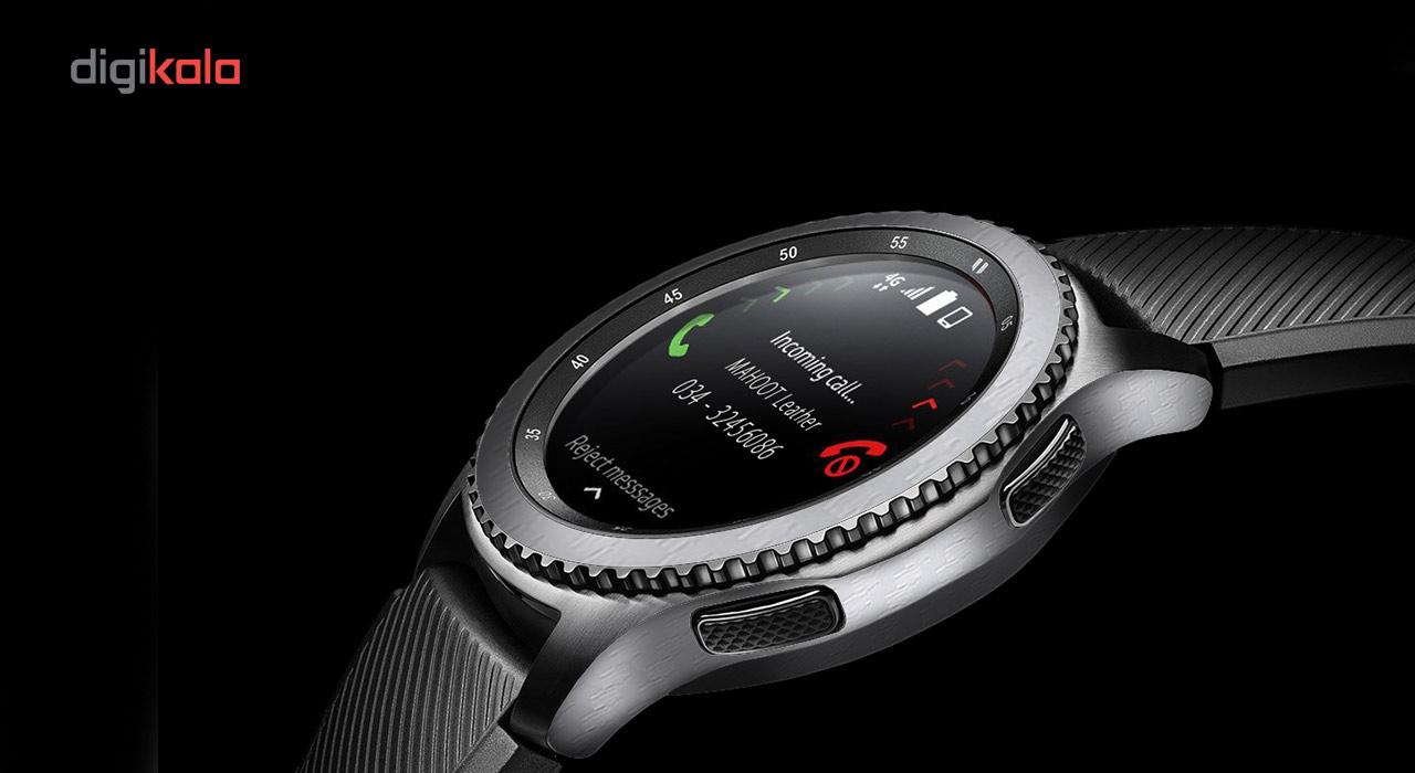 بسته 2 عددی برچسب ماهوت مدل Carbon-fiber مناسب برای ساعت هوشمند Samsung Gear S3 Frontier main 1 8