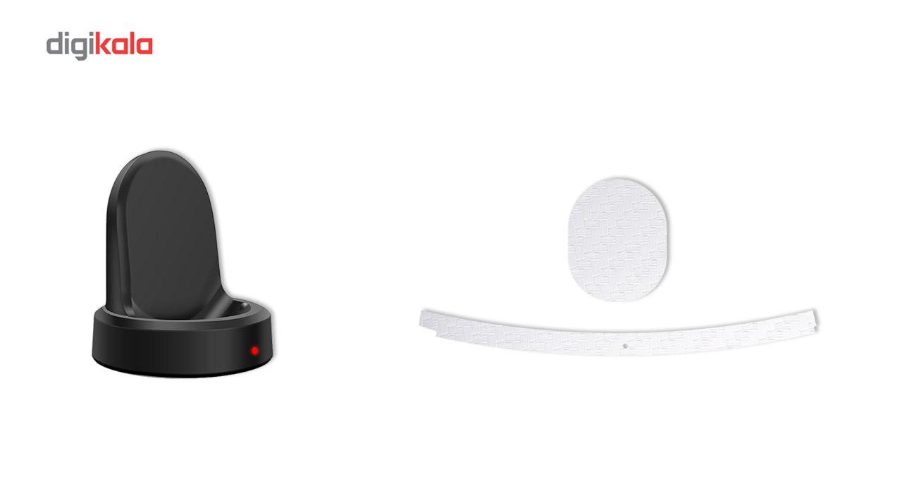 بسته 2 عددی برچسب ماهوت مدل Carbon-fiber مناسب برای ساعت هوشمند Samsung Gear S3 Frontier main 1 13