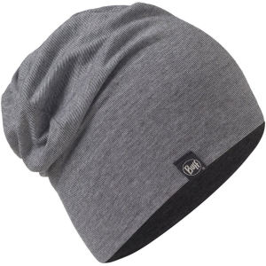 کلاه بافتنی مردانه باف مدل Grey Stripes