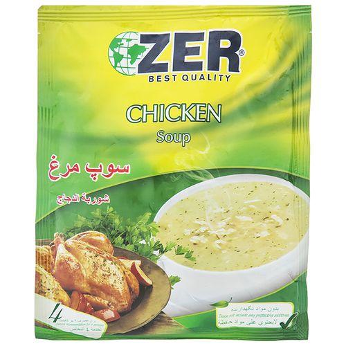 سوپ مرغ زیر مقدار 65 گرم