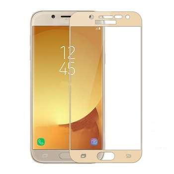محافظ صفحه نمایش تمپرد مدل Full Cover مناسب برای گوشی موبایل سامسونگ J5 Pro