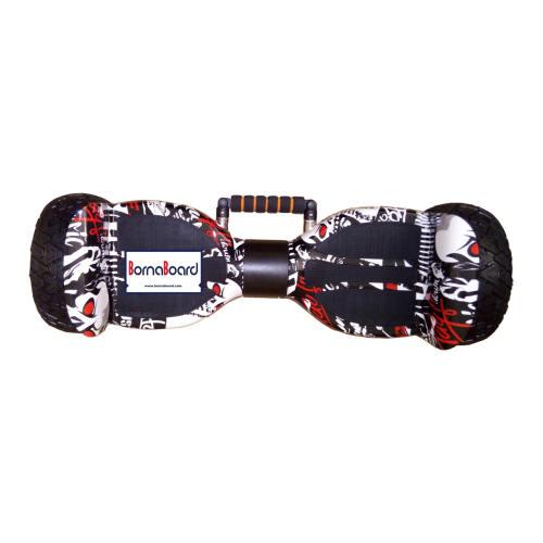 اسکوتر برقی آفرود مدل Borna-Off Road Handle HANROX-Black-white