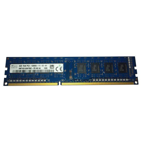 رم دسکتاپ DDR3 تک کاناله 1600 مگاهرتز اس کی هاینیکس مدل 12800 ظرفیت 4 گیگابایت