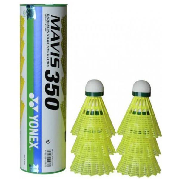 توپ بدمینتون یونکس مدل Mavis 350 بسته 6 عددی سایز 1.5
