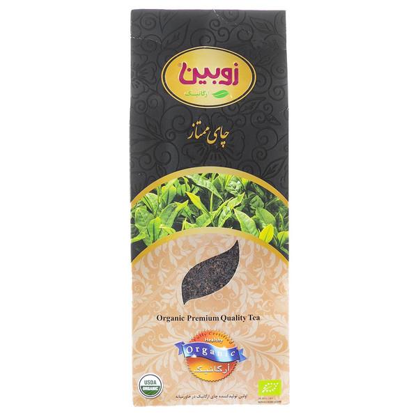 چای سیاه ممتاز ارگانیک زوبین مقدار 400 گرم