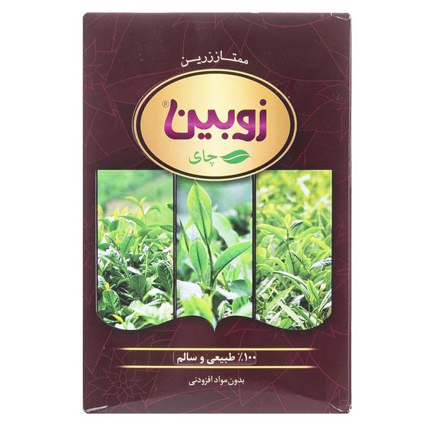 چای ممتاز زرین ارگانیک زوبین مقدار 450 گرم