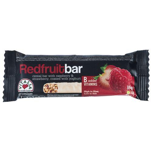 تافی غلات میوه های قرمز ویتالیا مقدار 35 گرم
