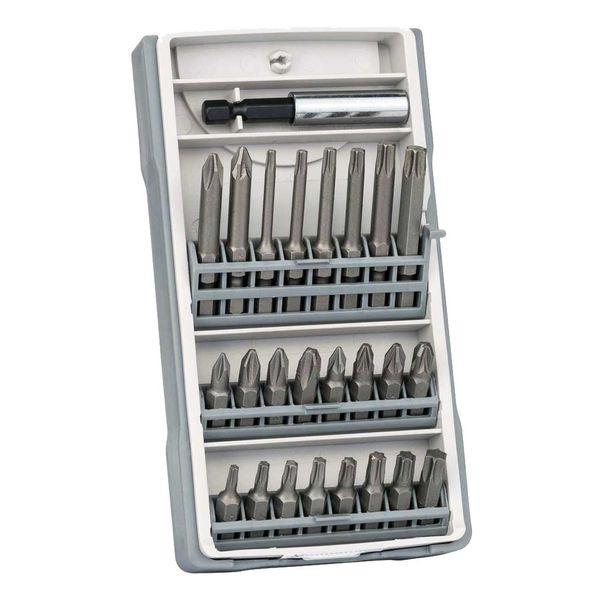 مجموعه 25 عددی سر پیچ گوشتی بوش مدل 2607017037