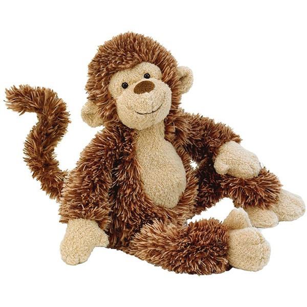 عروسک میمون جلی کت کد PO6SMK سایز 4