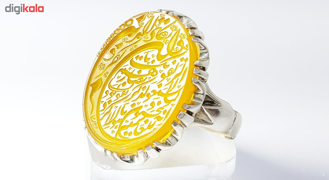 انگشتر نقره کد 4268