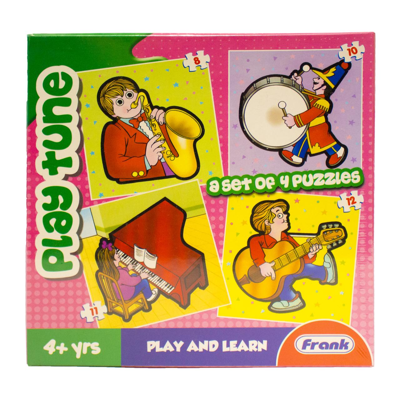بازی آموزشی و پازل  فرانک کد 10404