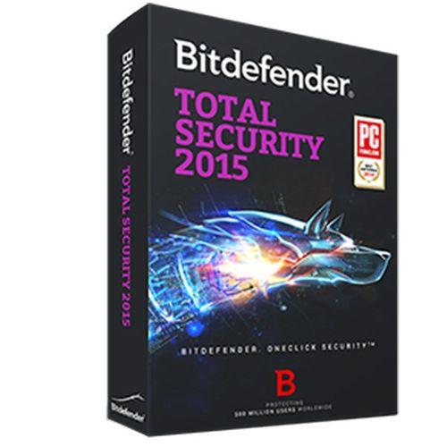 توتال سکیوریتی بیت دیفندر 2015  - سه کاربره - دو ساله