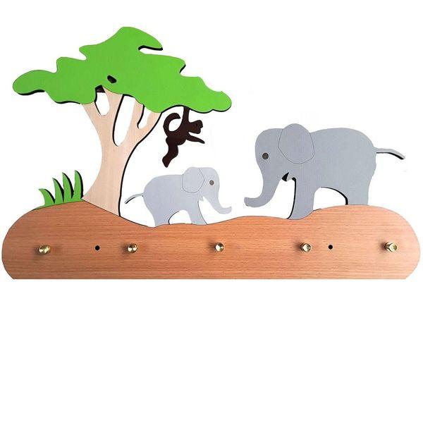 آویز دیواری اتاق کودک پینو مدل جنگل