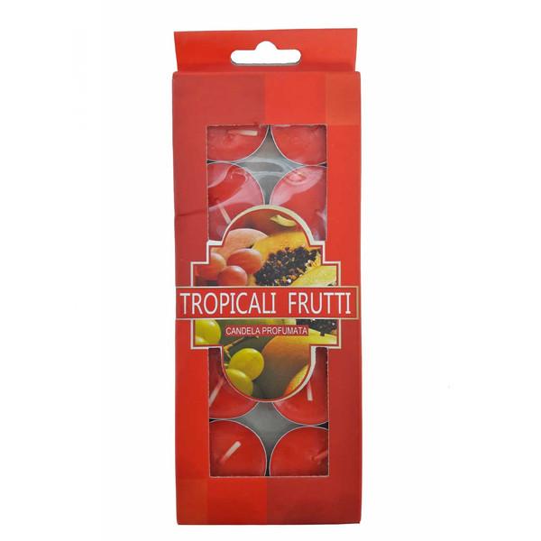 شمع وارمر کندلا مدل میوه های گرمسیری بسته 10 عددی