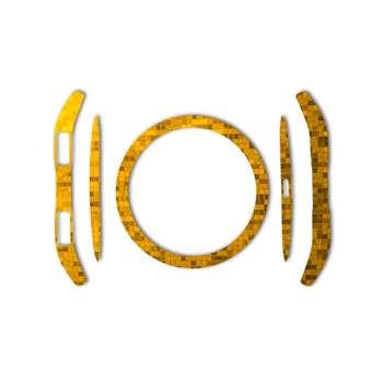 برچسب ماهوت مدل Gold-pixel Special مناسب برای ساعت هوشمند Samsung Gear S3 Frontier