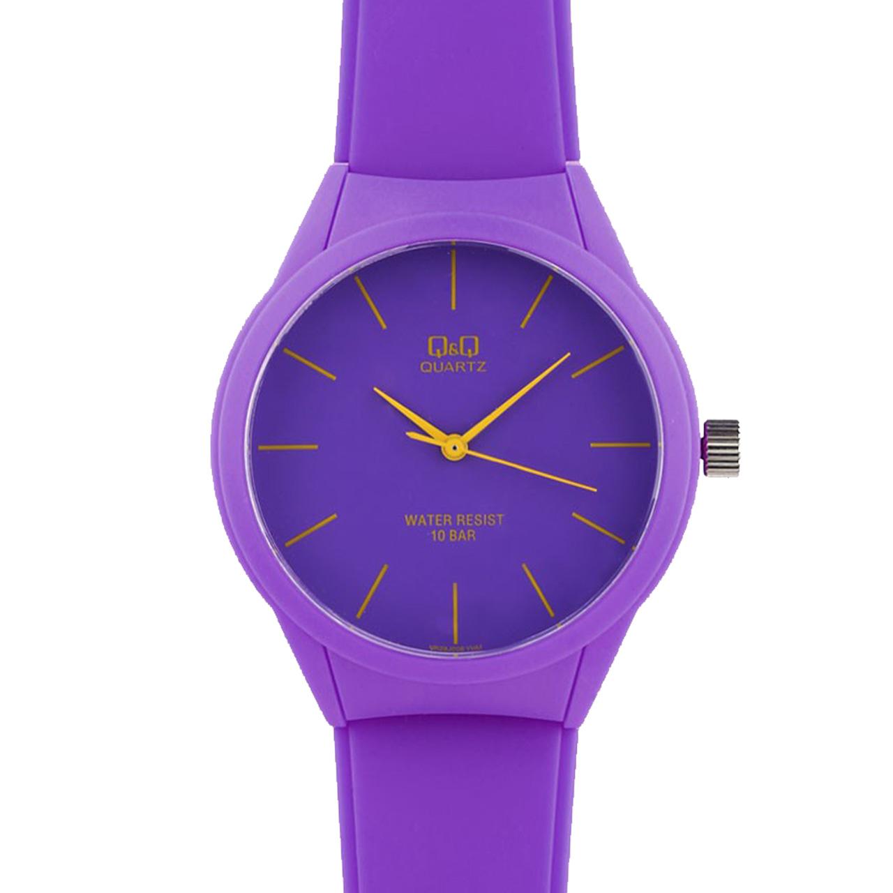 ساعت مچی عقربه پلاستیکی ای کیو اند کیو مدل vr28j006y