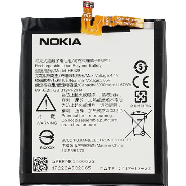 باتری موبایل مدل HE328 مناسب برای گوشی موبایل Nokia 8