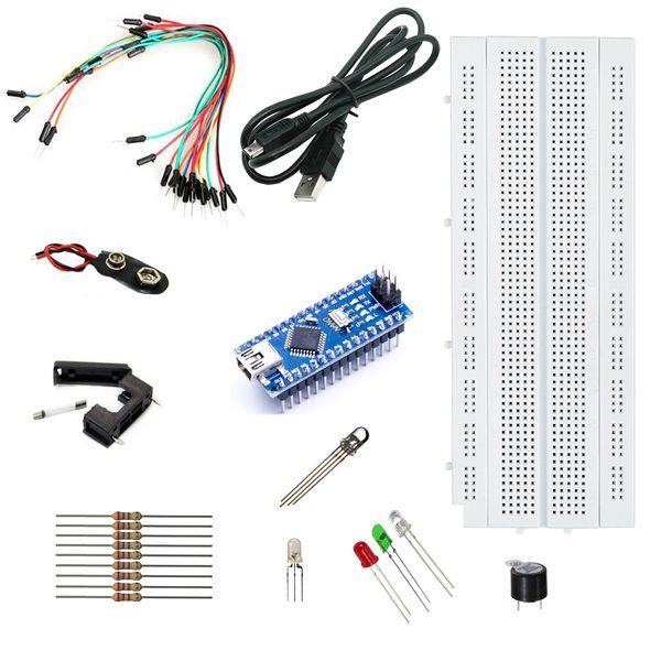 کیت آموزشی الکترونیک مدل AD002 مهندسیکا طرح LED |