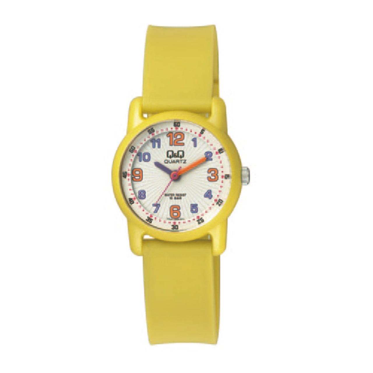 ساعت مچی عقربه ای پلاستیکی کوچک کیو اند کیو مدل vr41j005y