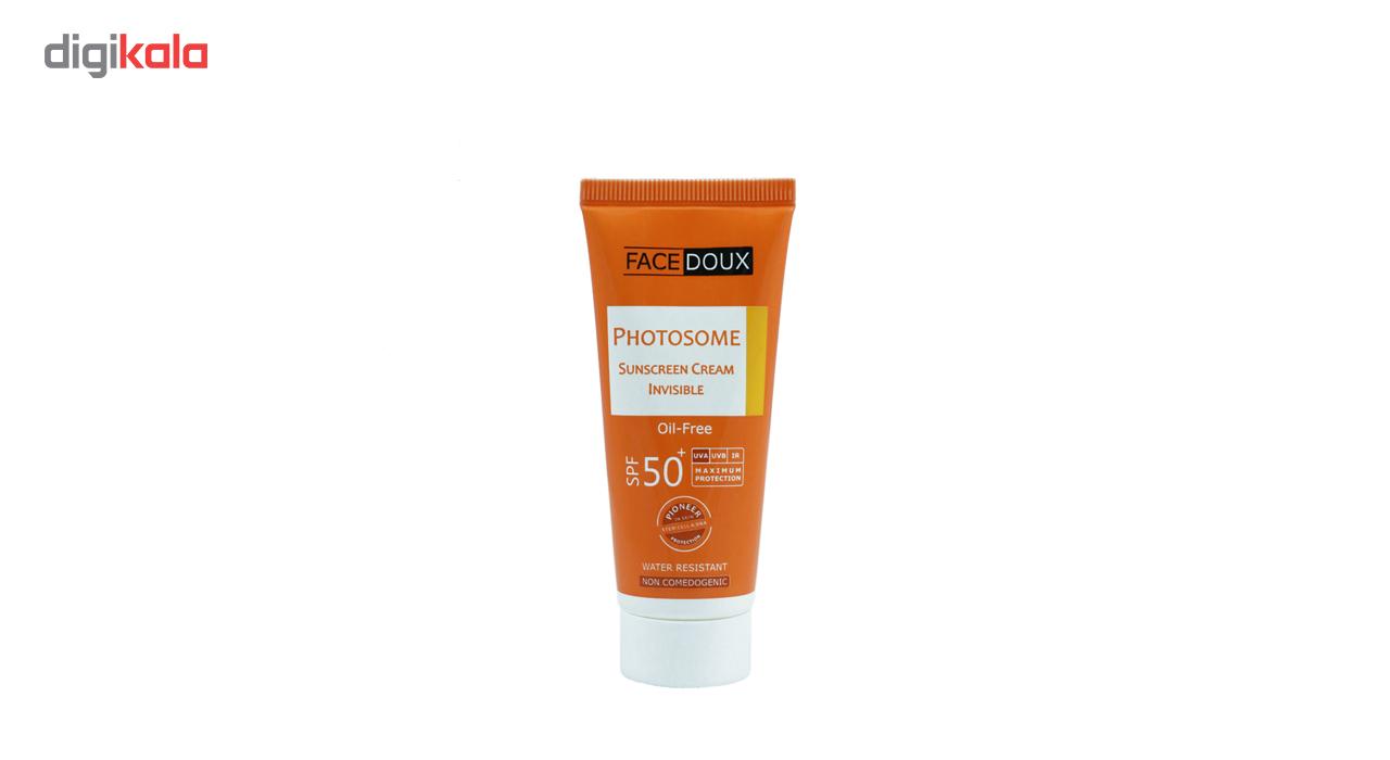 خرید                      کرم ضد آفتاب فیس دوکس مدل Oil free حجم 40میلی لیتر