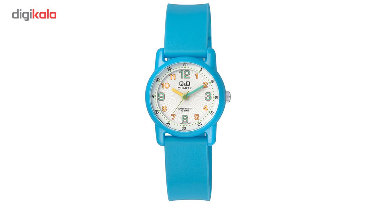 ساعت مچی عقربه ای پلاستیکی کوچک کیو اند کیو مدل vr41j003y