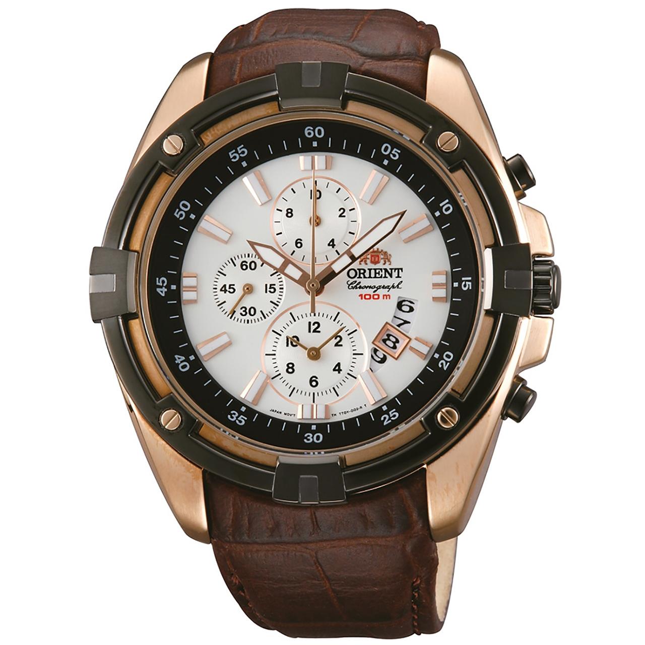 ساعت مچی عقربه ای مردانه  اورینت مدل STT0Y005W0