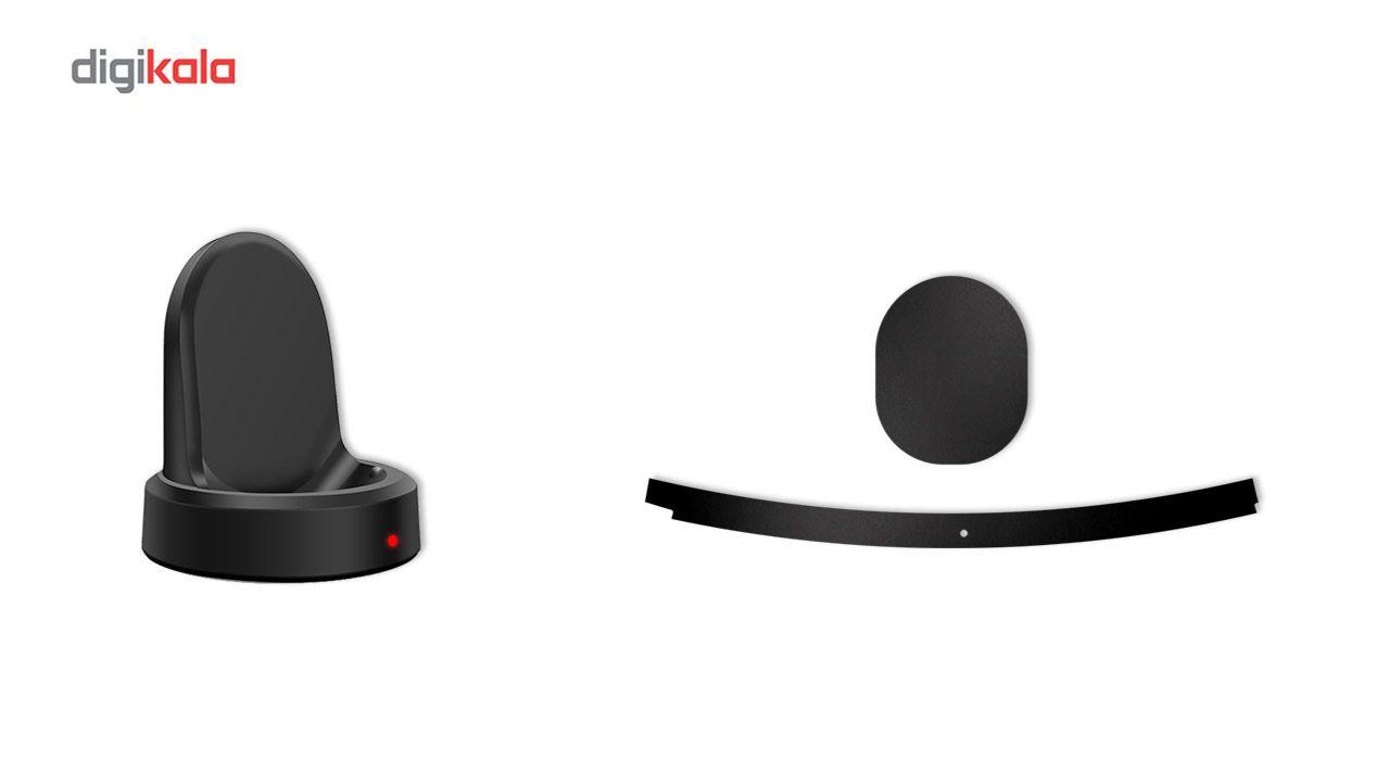 بسته 2 عددی برچسب ماهوت مدل Black-color-shades Special مناسب برای ساعت هوشمند Samsung Gear S3 Frontier main 1 7