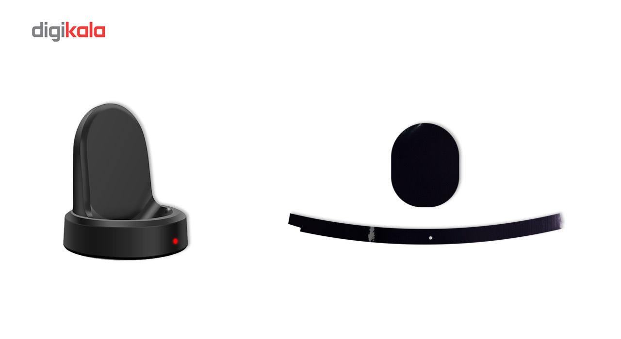 بسته 2 عددی برچسب ماهوت مدل Black-color-shades Special مناسب برای ساعت هوشمند Samsung Gear S3 Frontier main 1 8