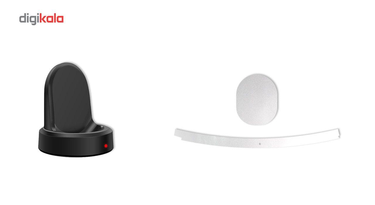 بسته 2 عددی برچسب ماهوت مدل Black-color-shades Special مناسب برای ساعت هوشمند Samsung Gear S3 Frontier main 1 9