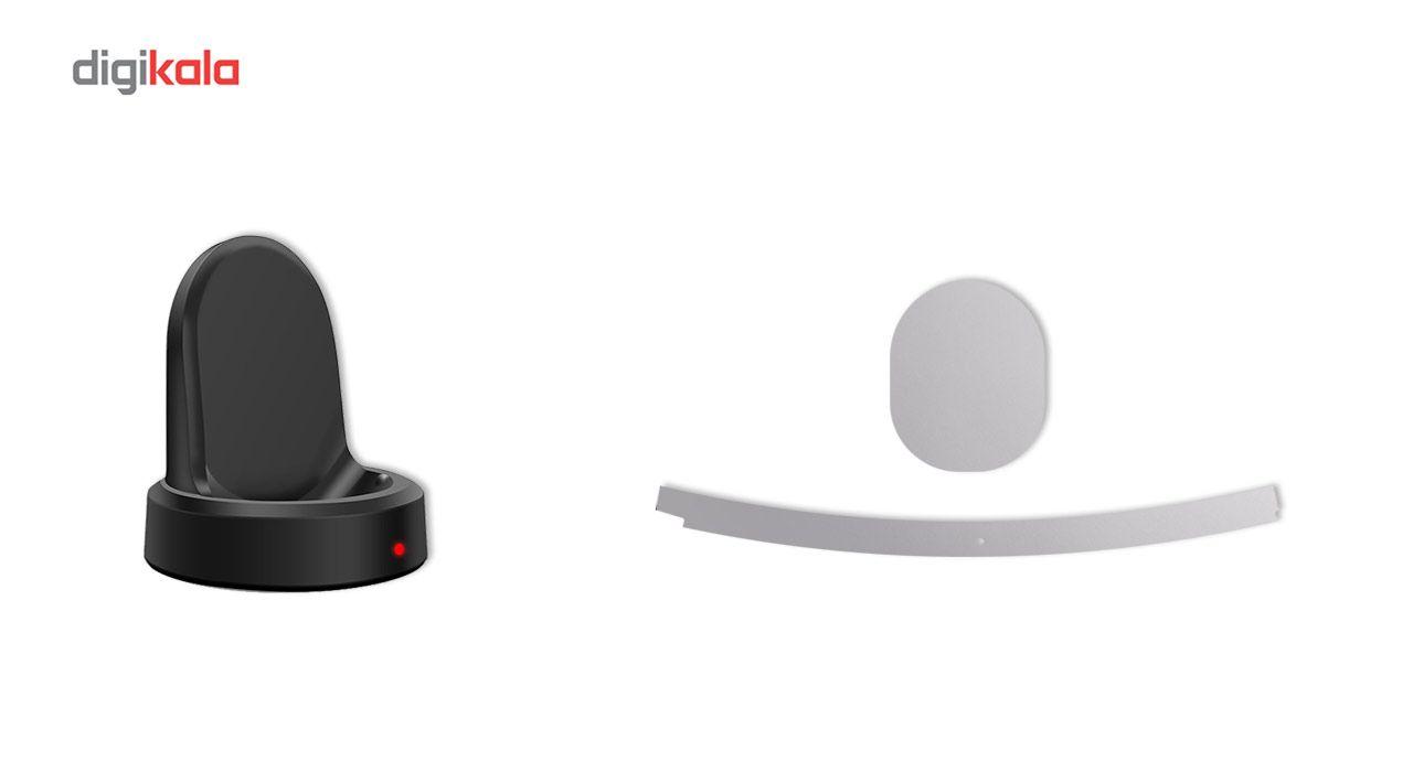 بسته 2 عددی برچسب ماهوت مدل Black-color-shades Special مناسب برای ساعت هوشمند Samsung Gear S3 Frontier main 1 10