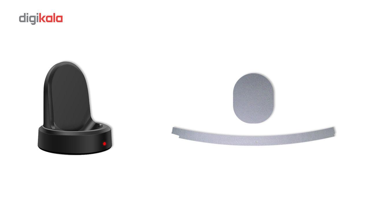 بسته 2 عددی برچسب ماهوت مدل Black-color-shades Special مناسب برای ساعت هوشمند Samsung Gear S3 Frontier main 1 11