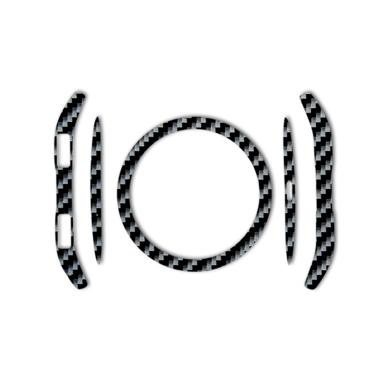 بسته 2 عددی برچسب ماهوت مدل Shine-carbon Special مناسب برای ساعت هوشمند Samsung Gear S3 Frontier
