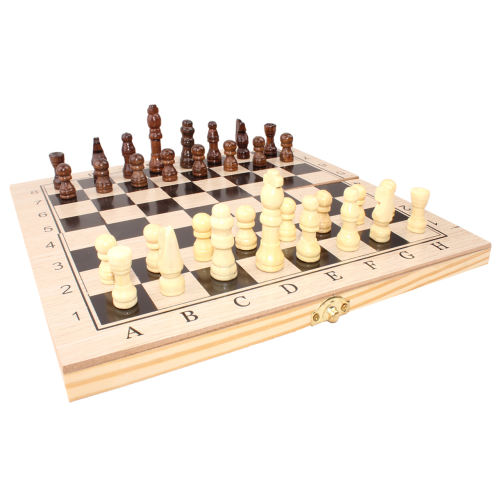 شطرنج چوبی مدل نفیس