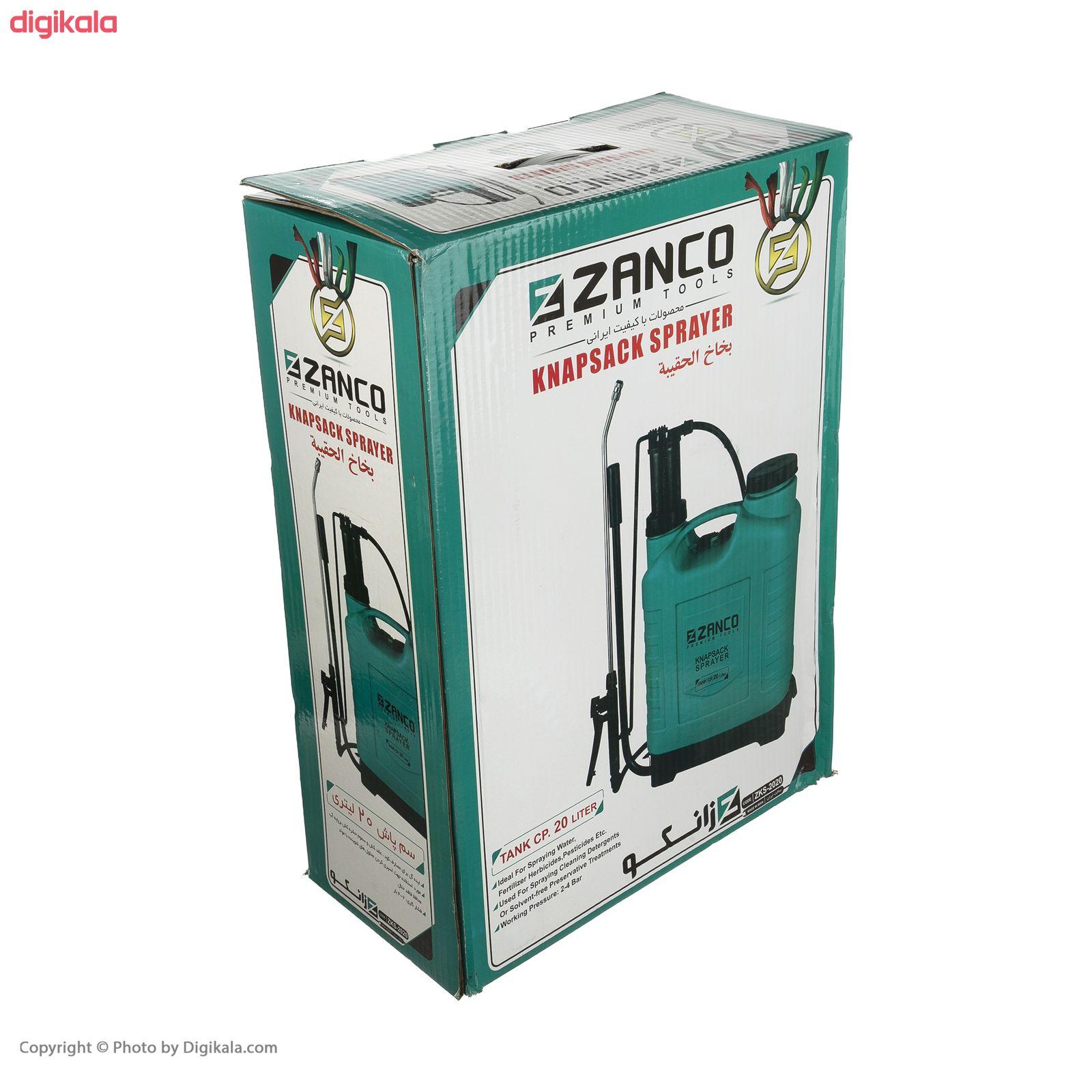 سمپاش زانکو مدل ZKS-2020 گنجایش 20 لیتر main 1 6