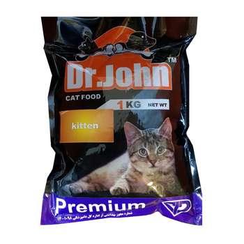 غذای خشک بچه گربه دکتر جان مدل Premium Kitten وزن 1 کیلوگرم