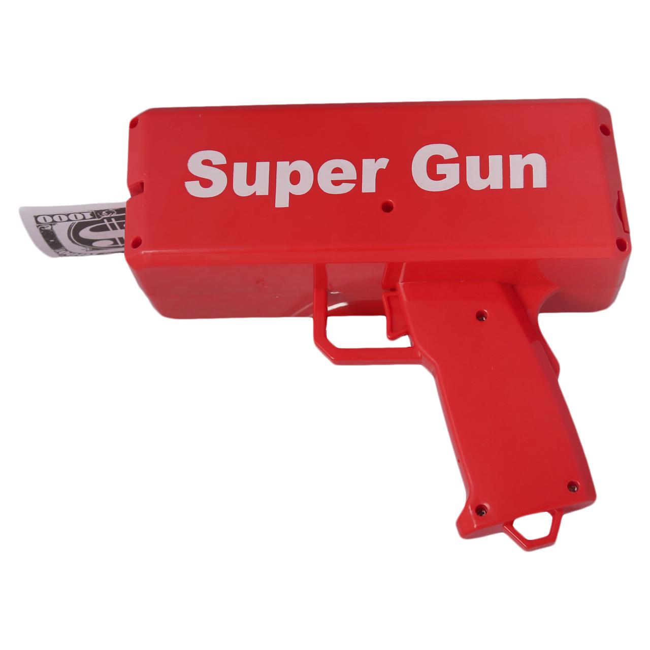 تفنگ اسباب بازی مدل SUPER GUN