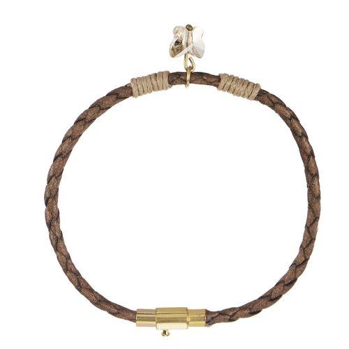 دستبند طلا 18 عیار ماهک مدل MB0861