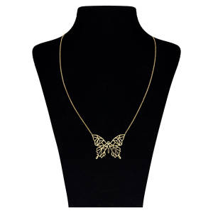 گردنبند طلا 18 عیار زنانه مایا ماهک مدل ZMM0843