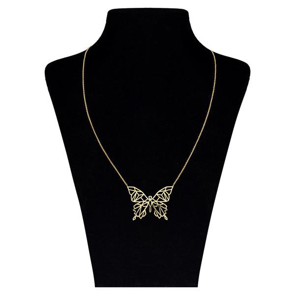 گردنبند طلا 18 عیار زنانه مدل ZMM0843