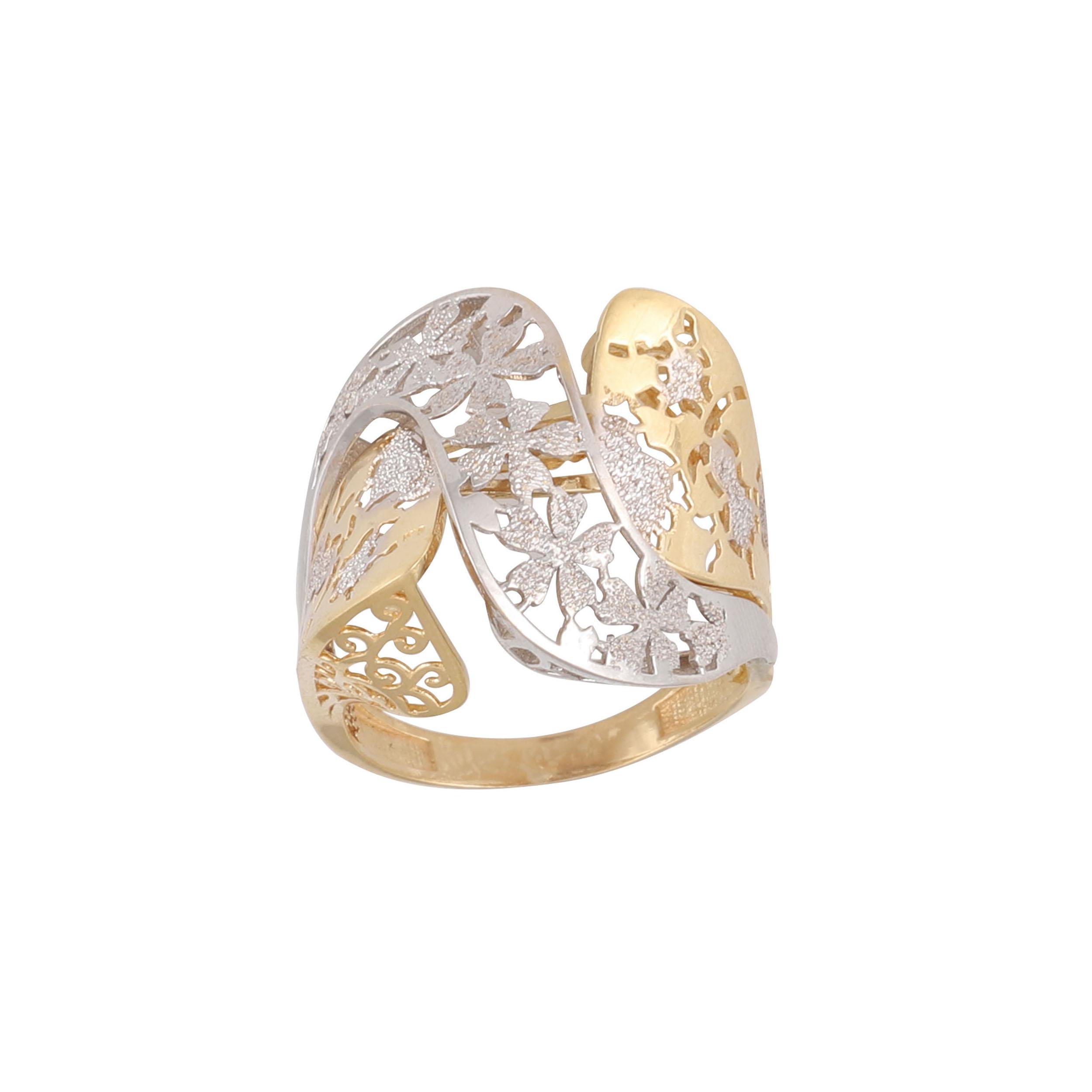 انگشتر طلا 18 عیار زنانه کد G757