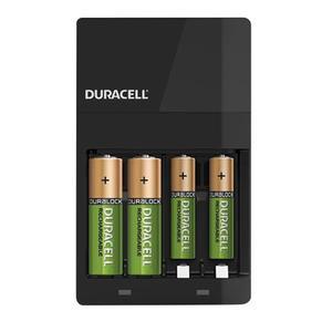 شارژر باتری دوراسل مدل CEF14 به همراه 4 عدد باتری قلمی و نیم قلمی