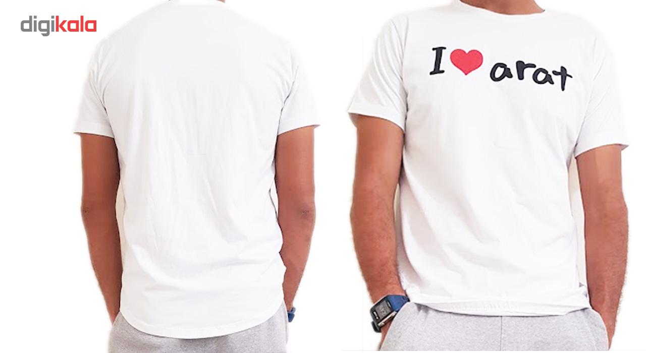 تی شرت مردانه مدل آرات