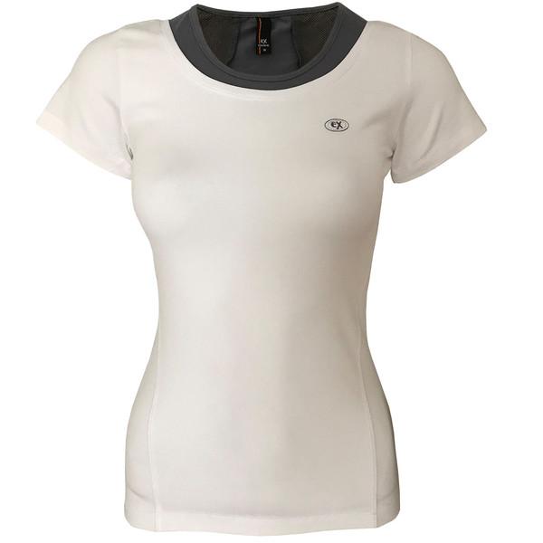 تی شرت ورزشی دخترانه ساکریکس  مدل GTSH556-WHT
