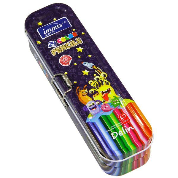 مداد رنگی 24 رنگ ایمر مدل JM 785-24 D