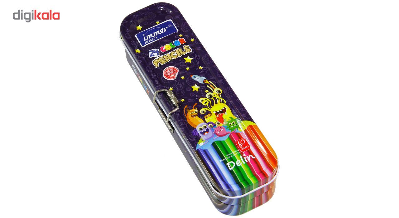 مداد رنگی 24 رنگ ایمر مدل JM 785-24 D main 1 1